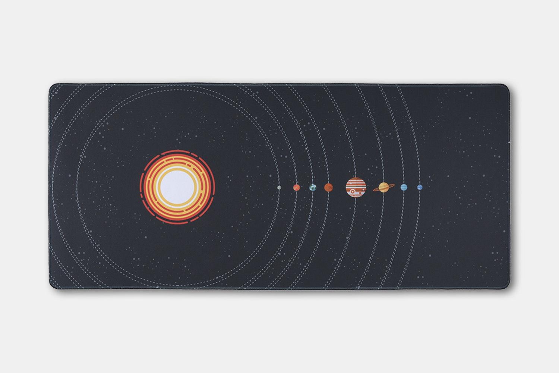 Chenyi Solar System Stitched Desk Mat - Orbit