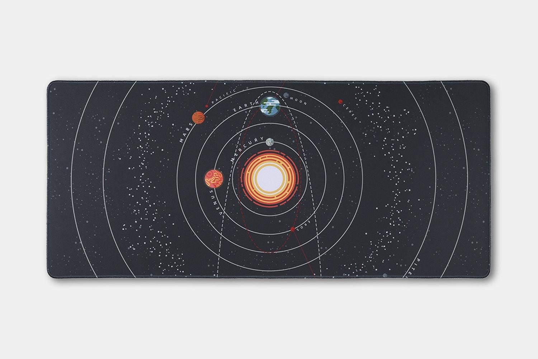 Chenyi Solar System Stitched Desk Mat - Revolution