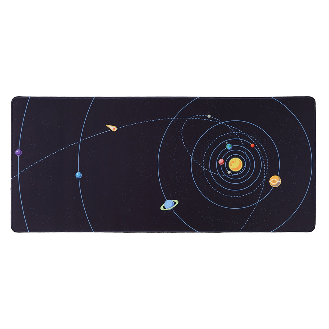 Chenyi Solar System Stitched Desk Mat - Nebula