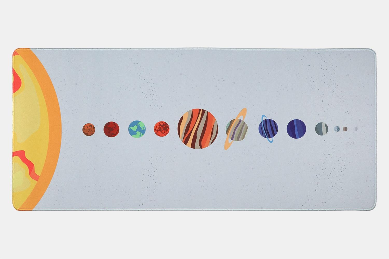 Chenyi Solar System Stitched Desk Mat - Solar System