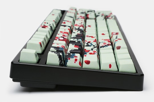 Cherry Blossoms PBT All Over Dye-Subbed Keycap Set