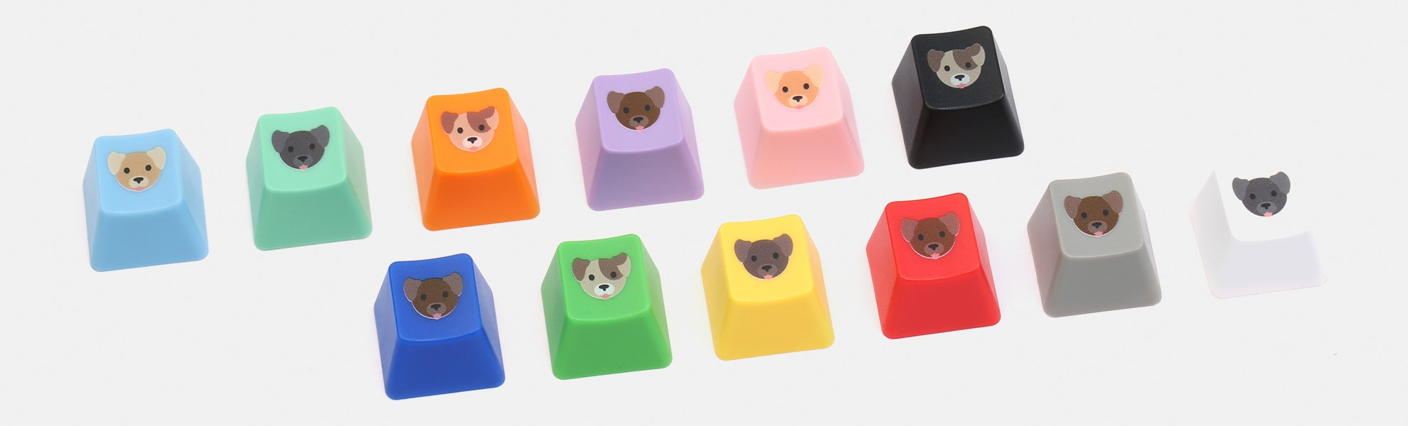 Cherry Puppy Novelty Keycaps