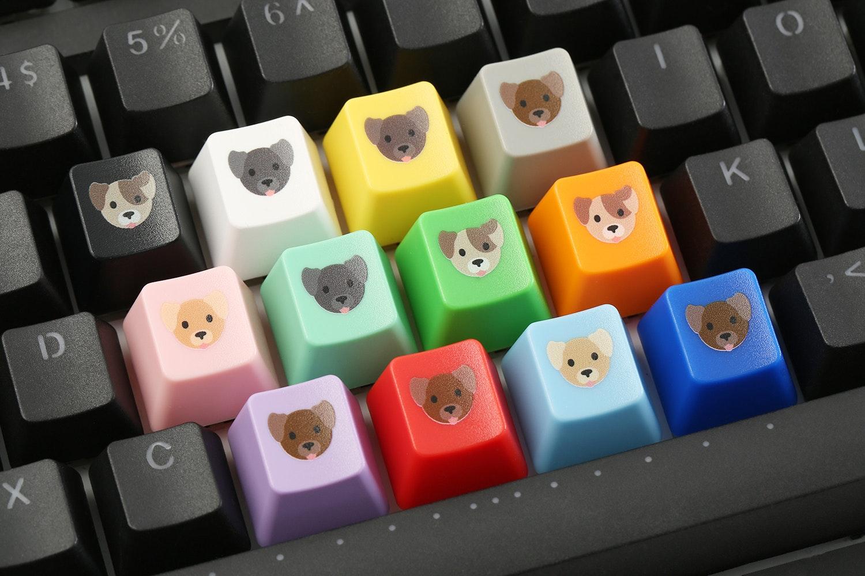 Cherry Puppy Novelty Keycaps