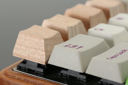 Cherry Wood Novelty Keycaps (4-pack)