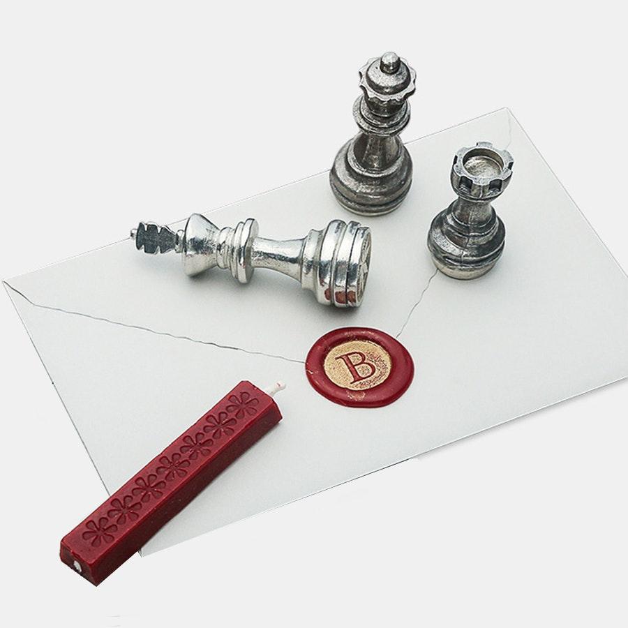 Chess Piece Wax Seal Set