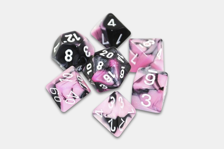 Black-Pink/White