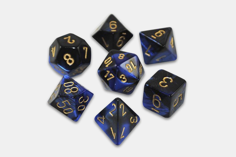Black-Blue/Gold