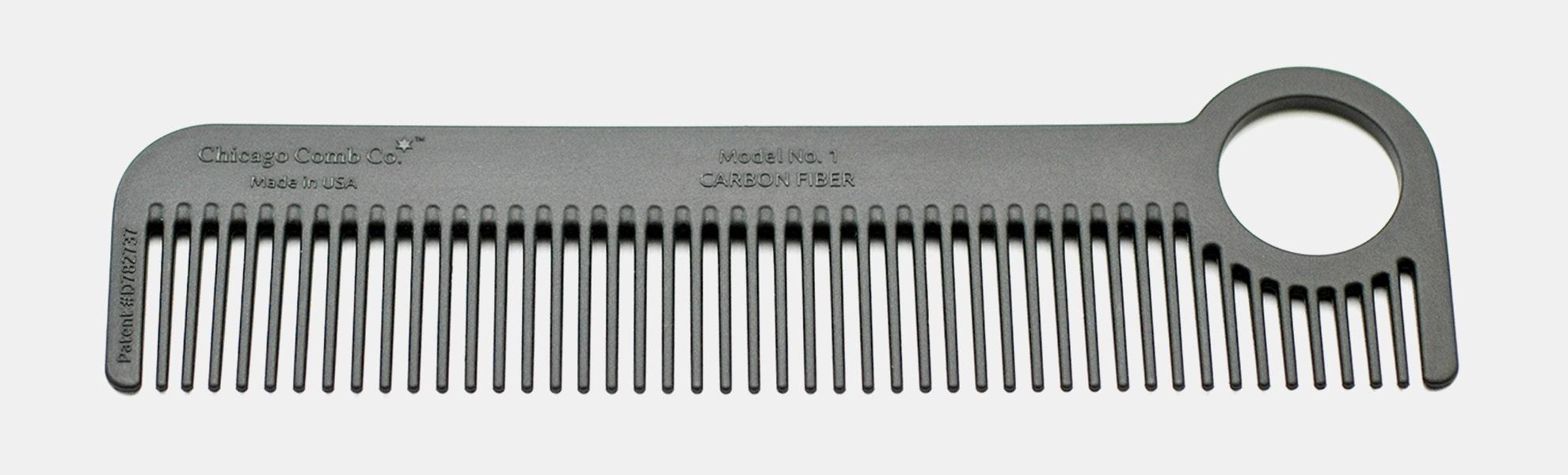 Chicago Comb Co. Carbon Fiber Combs