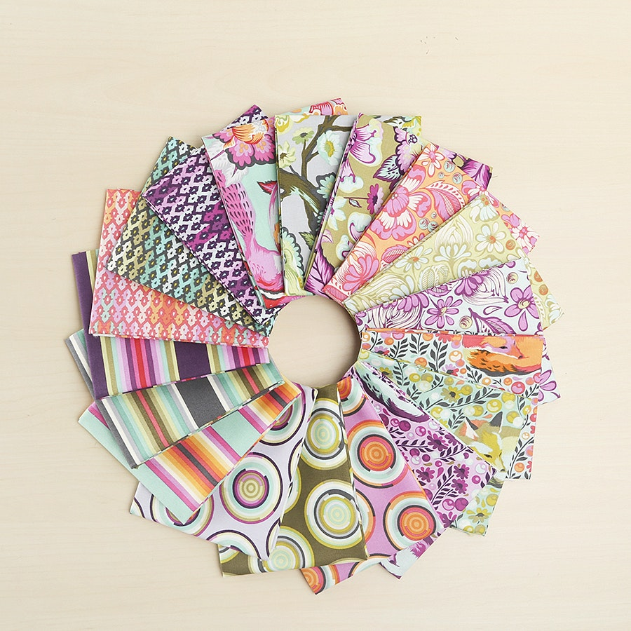 Chipper Fat Quarter Bundle by Tula Pink