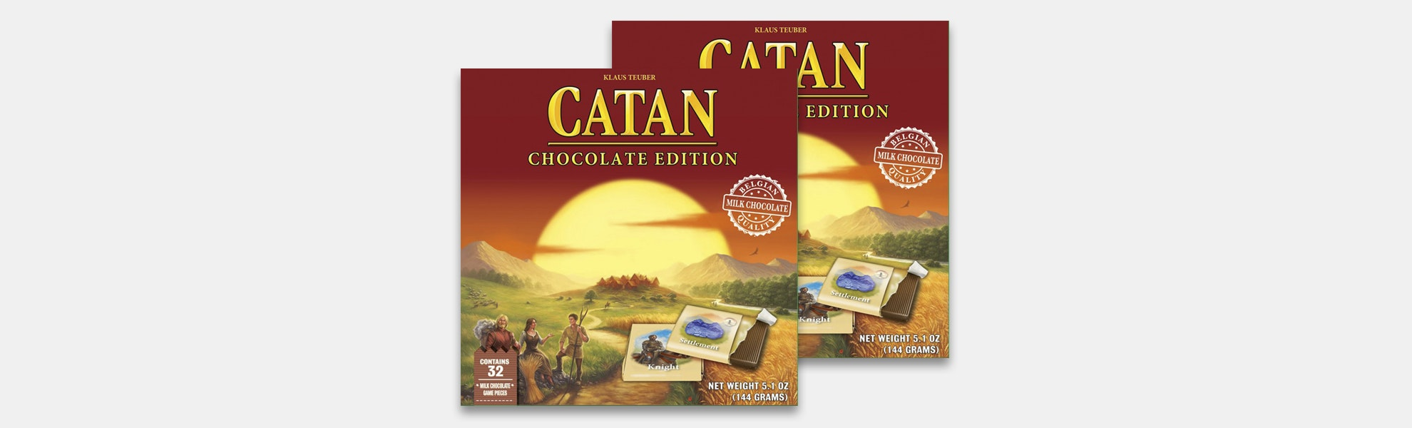 Chocolate Catan (2-Pack)