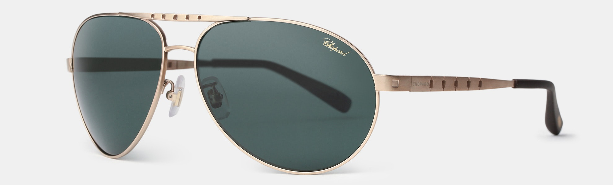 Chopard SCHB01 Polarized Aviator Sunglasses