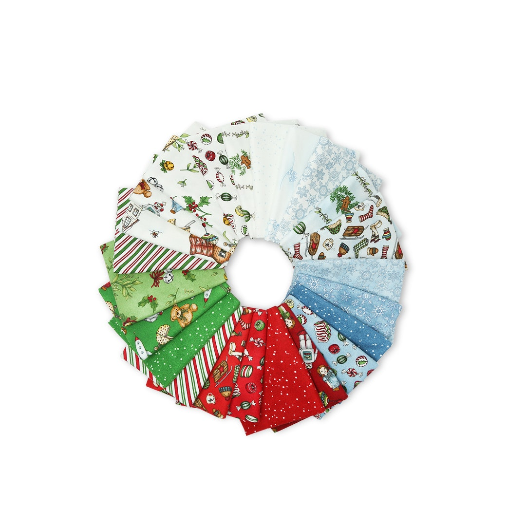Christmas Joys Flannel Fat Quarter Bundle