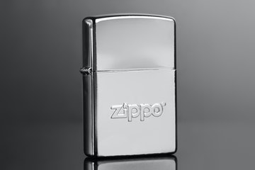 Classic Brushed with Zippo logo