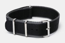 Black/gray edges