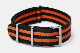 Black/orange bond