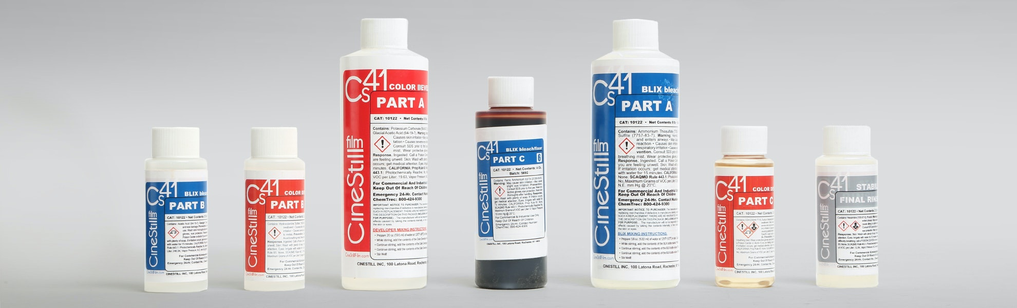 CineStill Cs41 Kit for Color Processing at Home