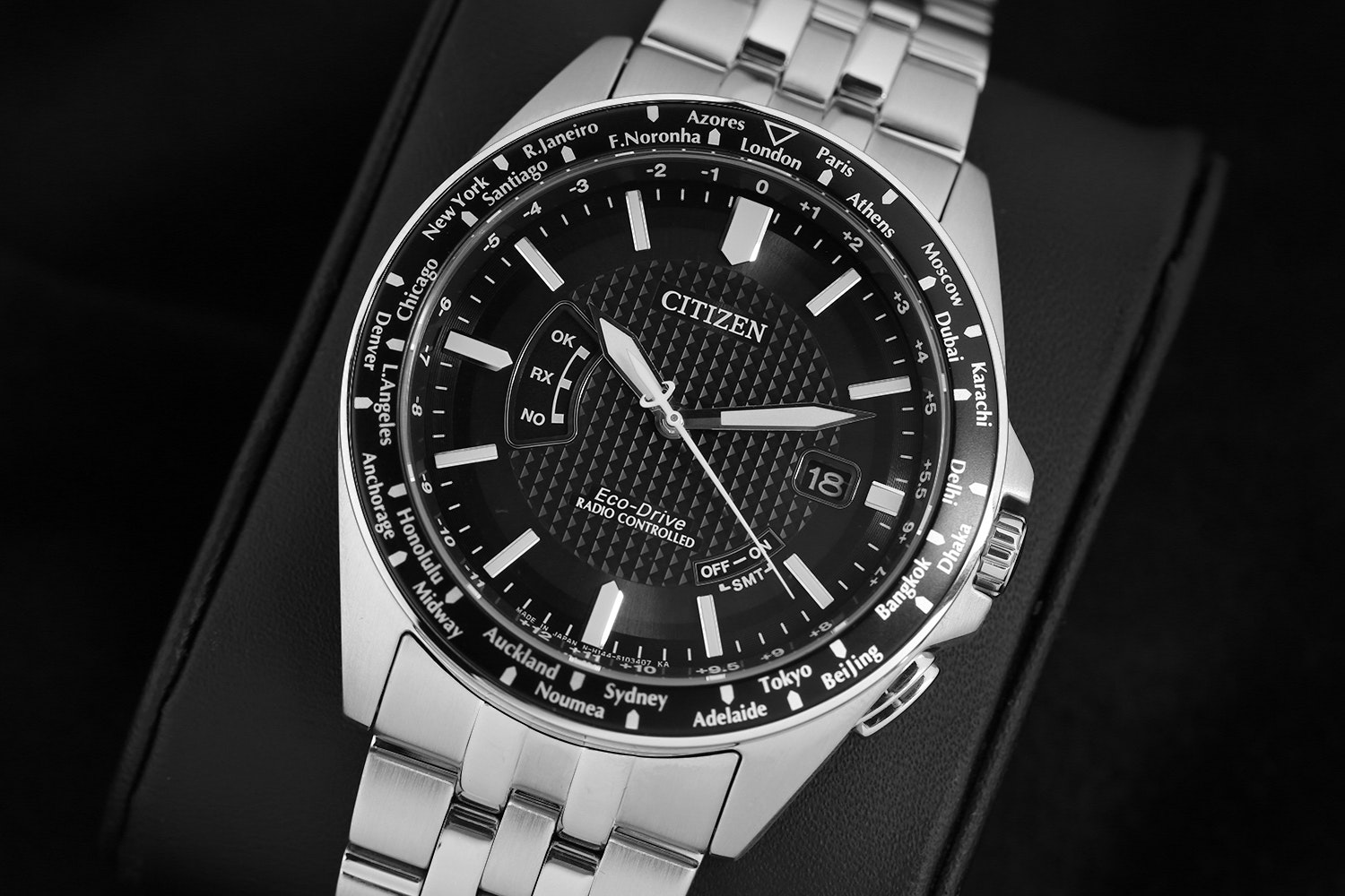 Citizen Eco-Drive World Perpetual A-T Watch