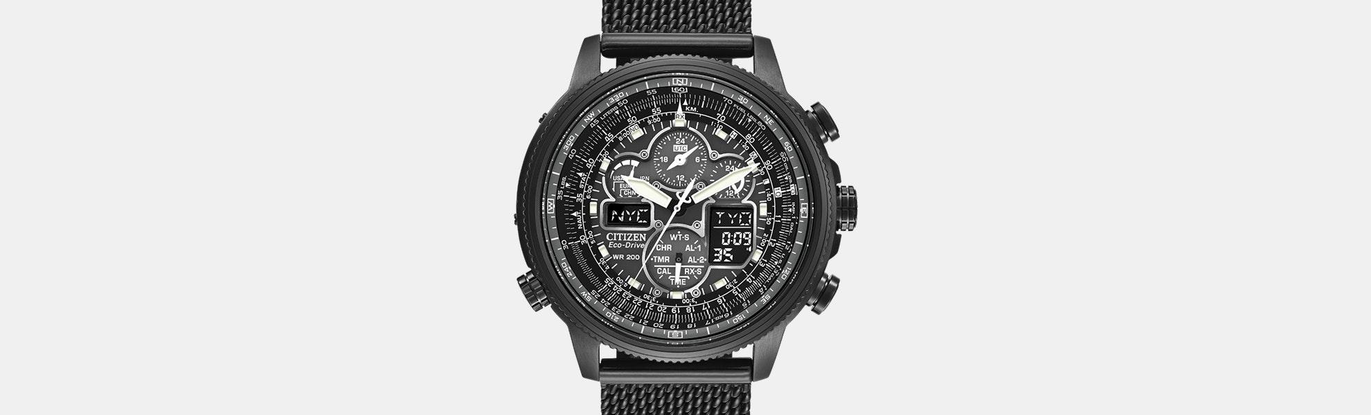 Citizen Promaster Navihawk A-T Solar Watch