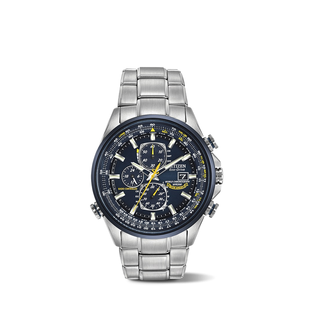 Citizen World Chronograph A-T Solar Watch