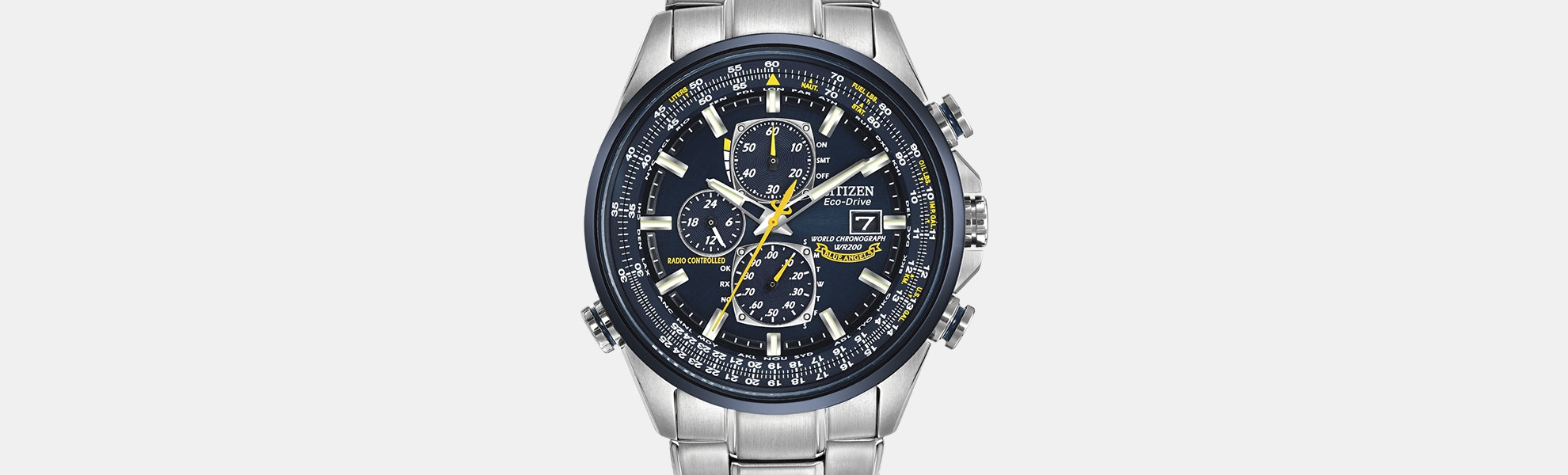 Citizen World Chronograph A-T Solar Watch