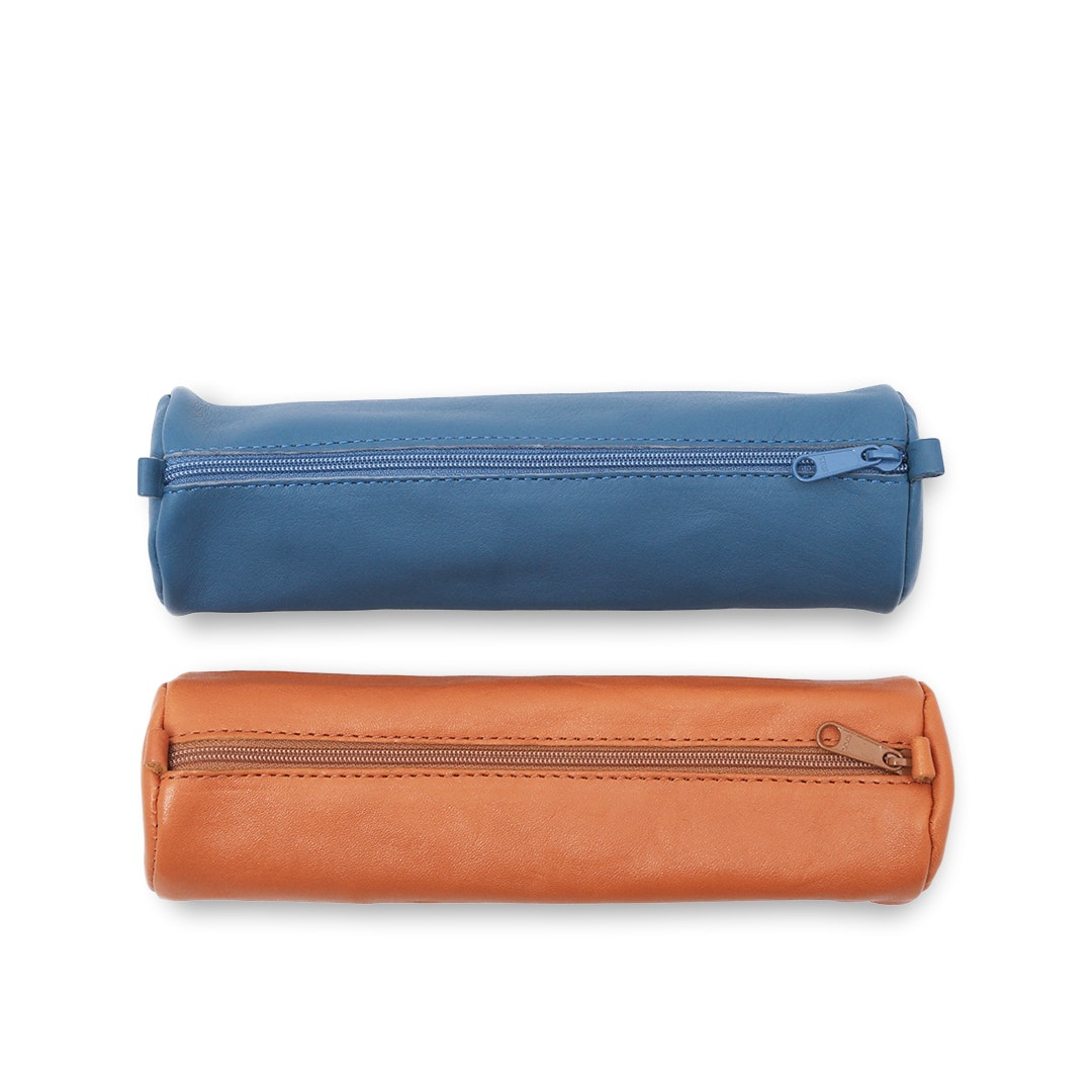 Clairefontaine Round Leather Pen Case (2-Pack)