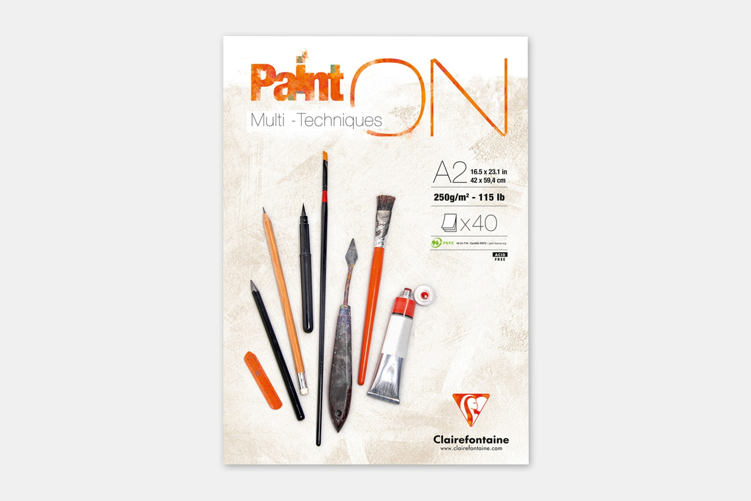 Clairefontaine Art On! Drawing Pads (2-Pack)