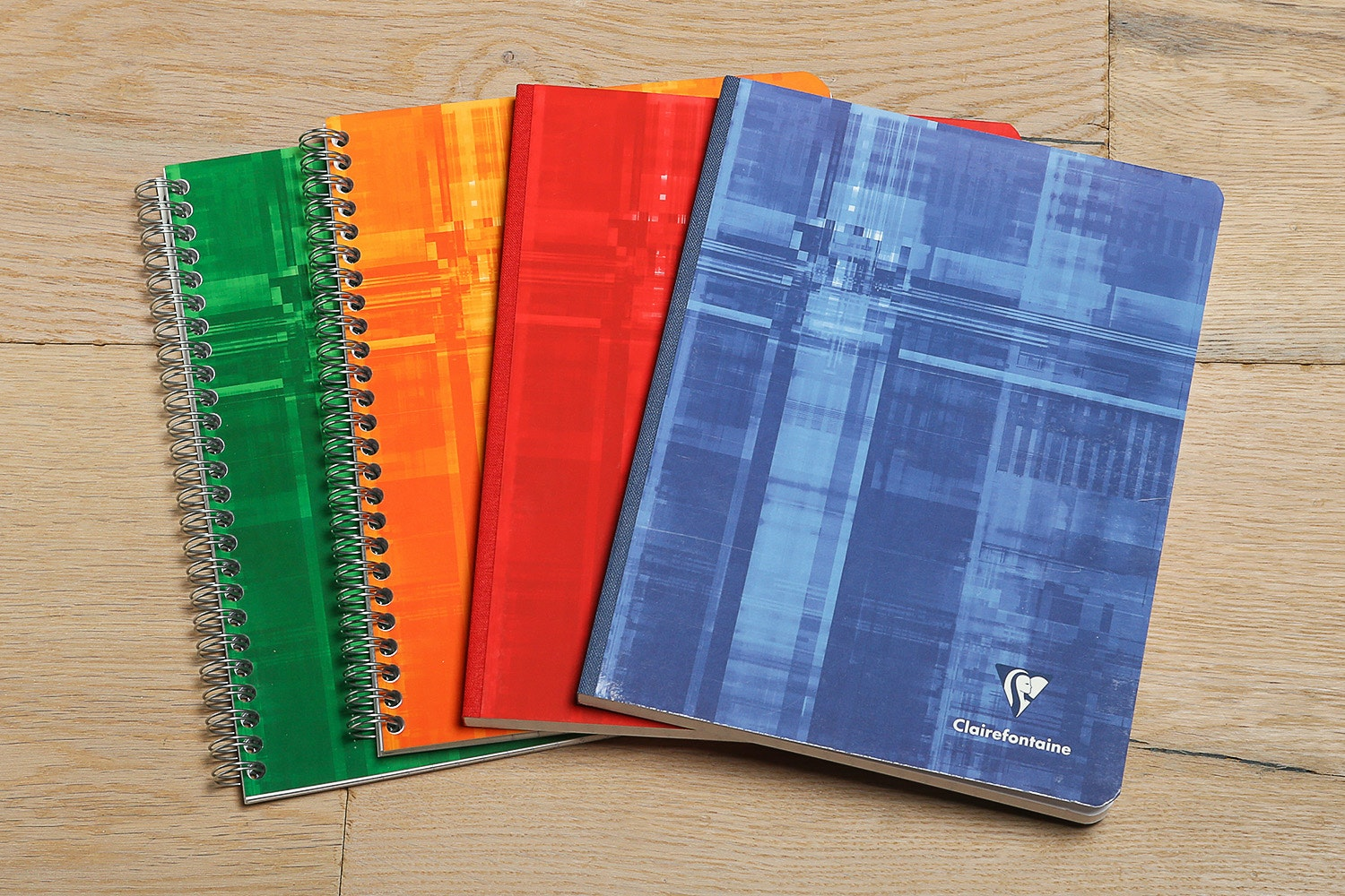 Clairefontaine French Ruled A5 Notebook (4-Pack)
