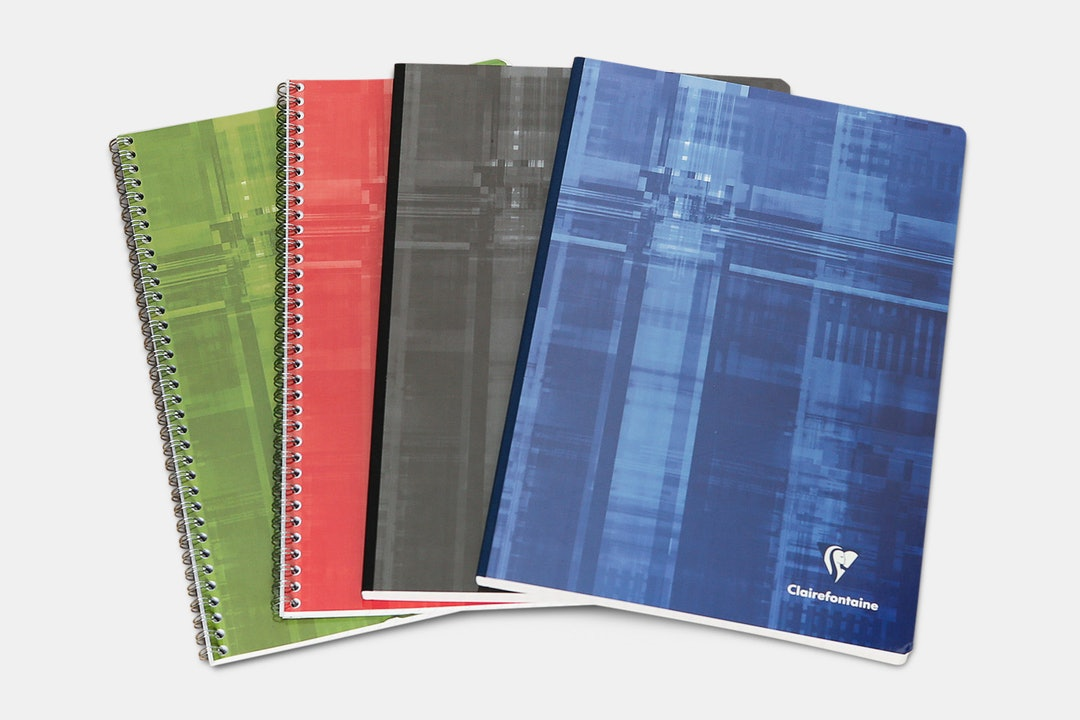 Clairefontaine French Ruled A4 Notebook (4-Pack)