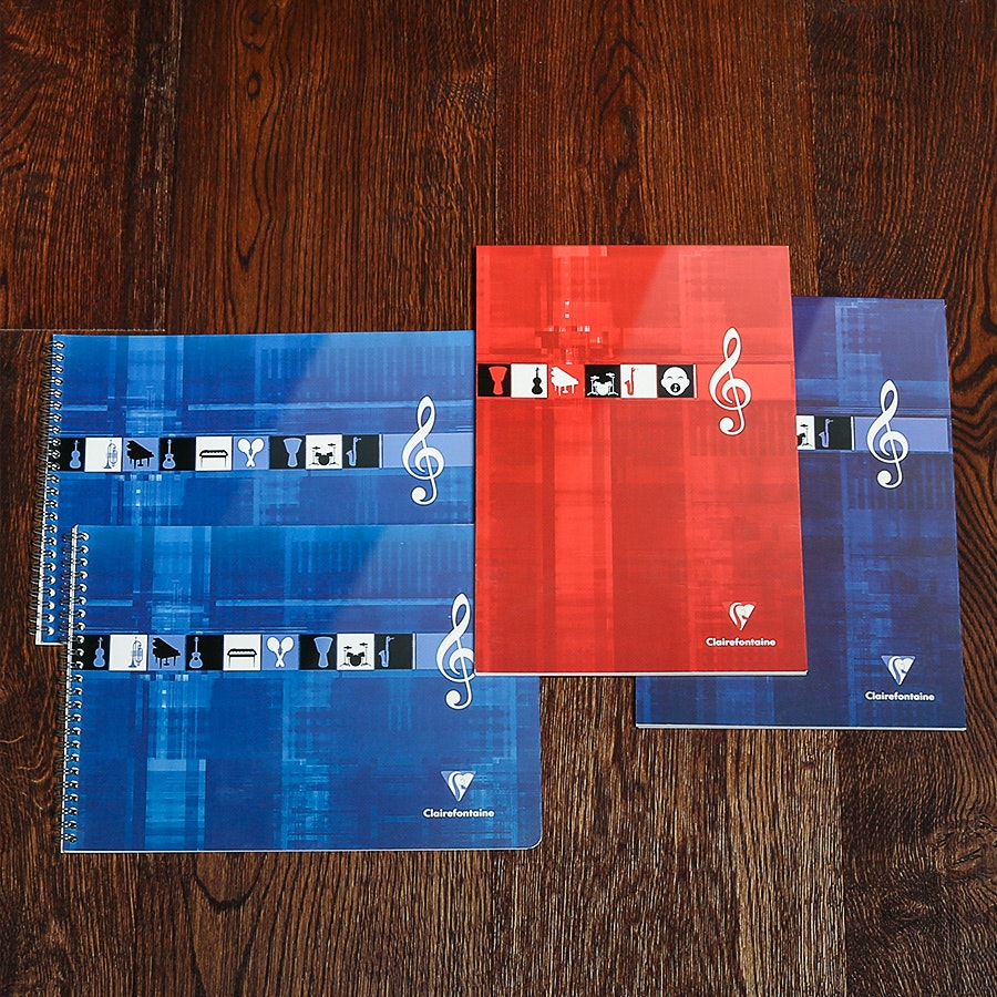Clairefontaine Music Notebook (4-Pack)