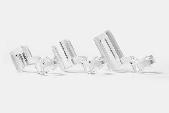 Clarity Acrylic Ruler Foot Bundle