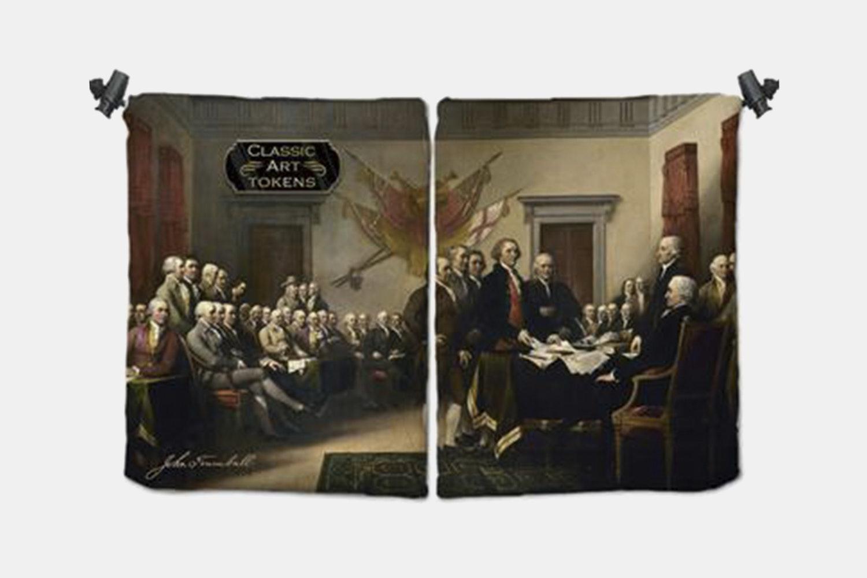 Freedom Dice Bag BY John Trumbull