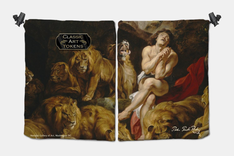 Cat Dice Bag BY Peter Paul Rubens