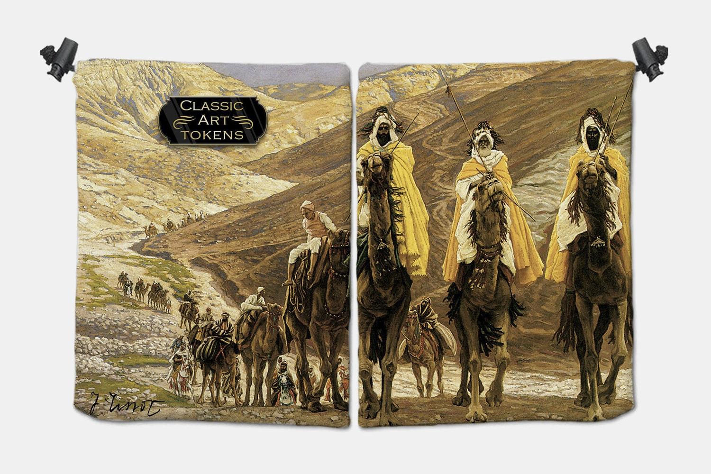 Sand Warrior Dice Bag BY James Tissot