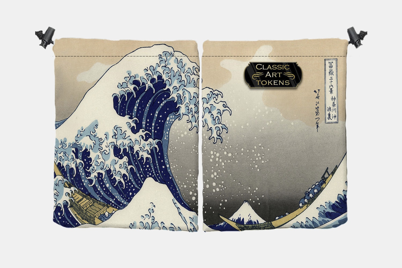 Elemental Dice Bag by Katsushika Hokusai
