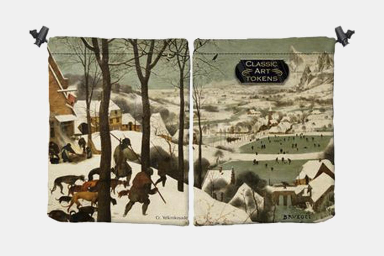 Ice Dice Bag BY Pieter Bruegel The Elder