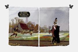 Soldier Dice Bag BY Jean-LÉON GÉRÔME