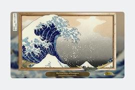 Elemental BY Katsushika Hokusai