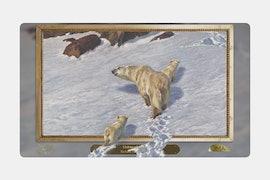 Bear Playmat BY Richard Friese