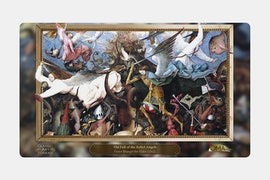 Angel Playmat BY Pieter Bruegel The Elder
