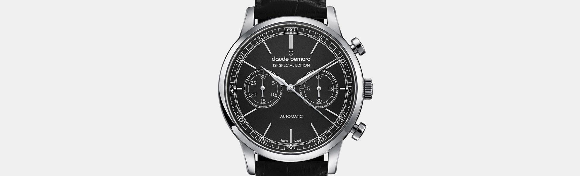 Claude Bernard By Edox Automatic Swiss Chronograph