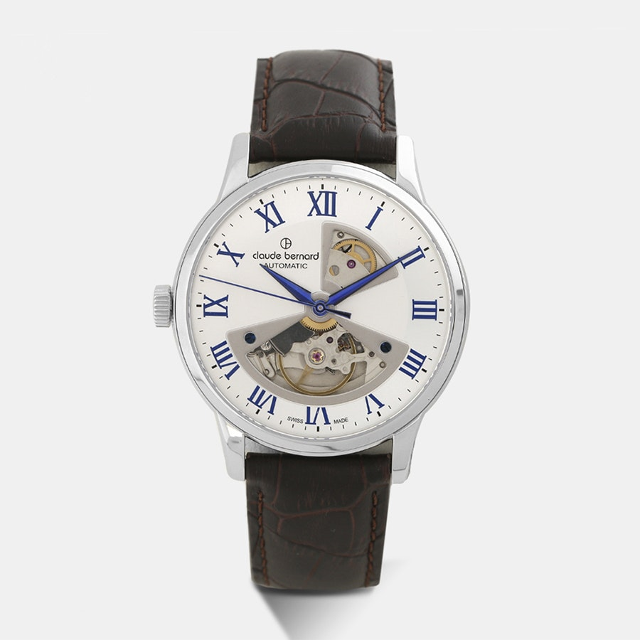 Claude Bernard Classic Open Heart Automatic Watch