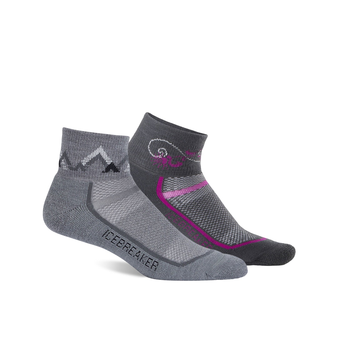 Closeout: Icebreaker Light Cushion Socks (2-Pack)