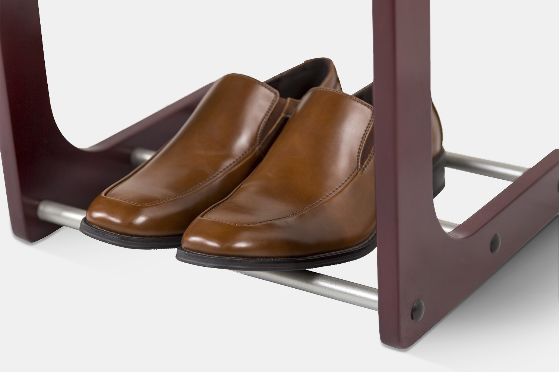 ClosetMate Solid Hardwood Valet Stand