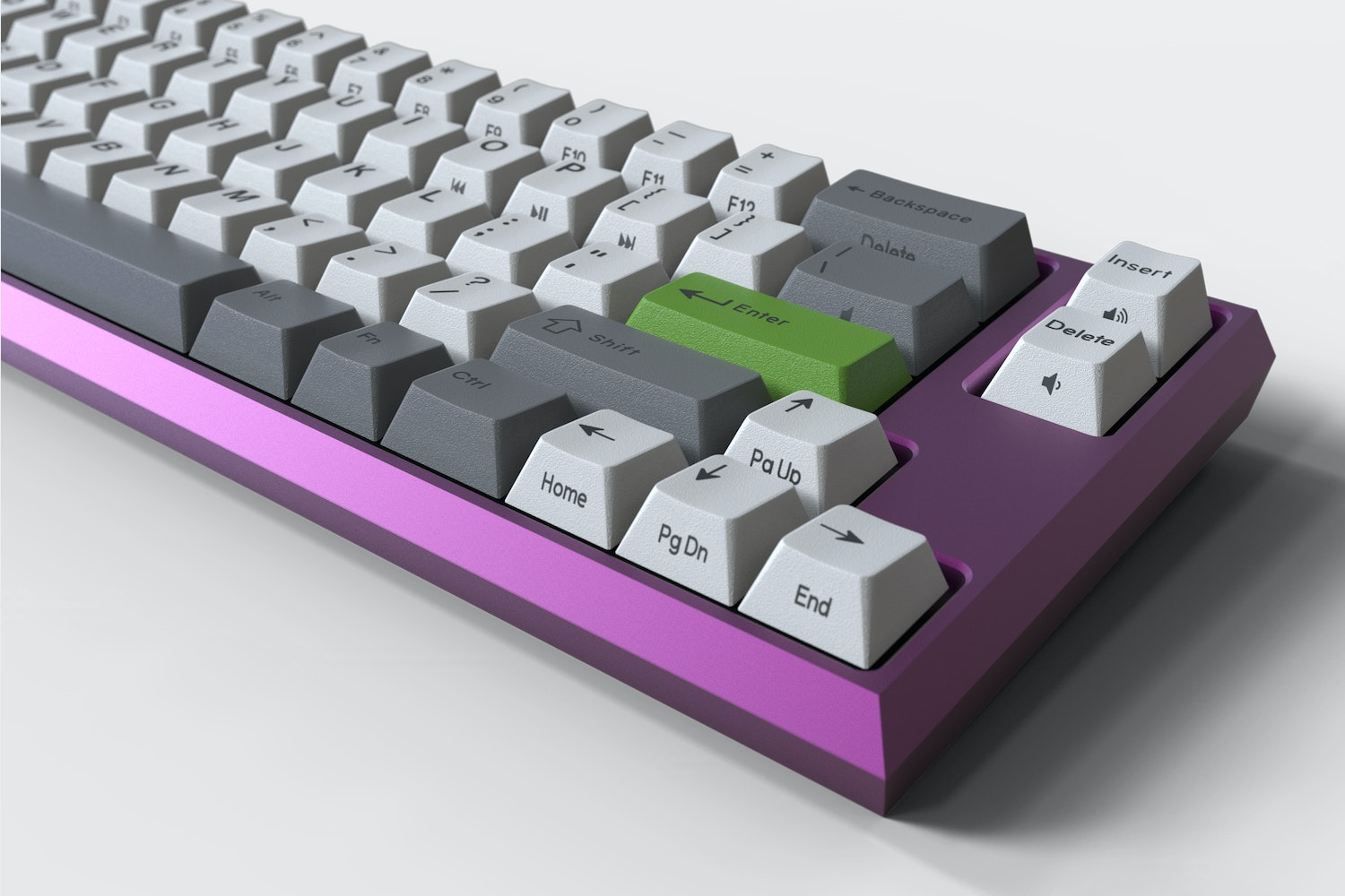 Clueboard 66% Custom Mechanical Keyboard Kit