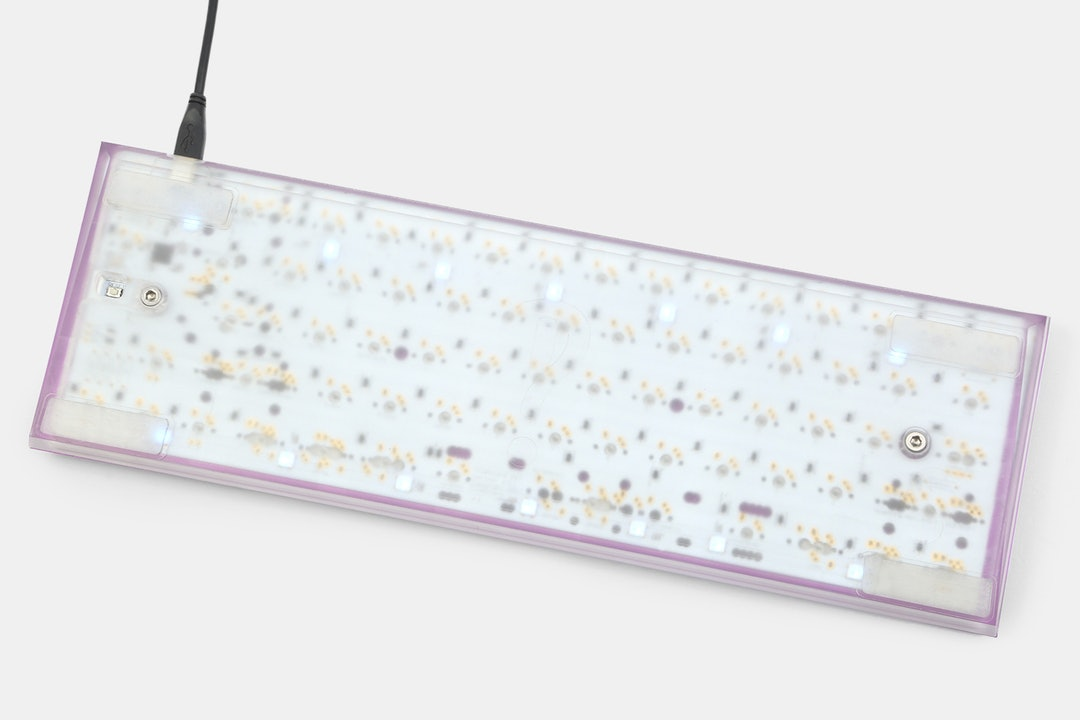 Clueboard 66% Custom Mechanical Keyboard Kit