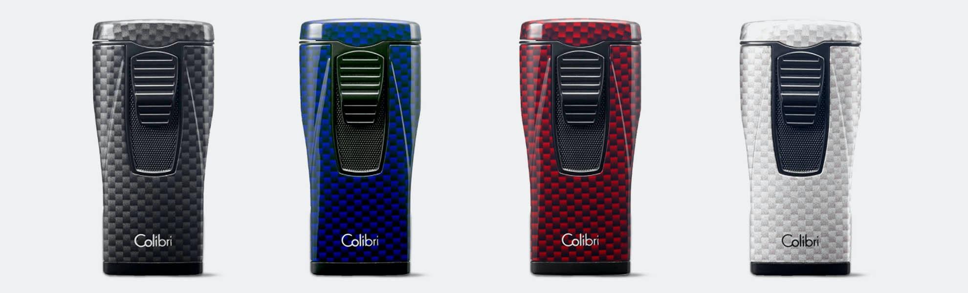 Colibri Carbon Fiber Monaco Triple-Flame Torch