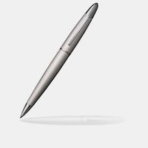Ballpoint Pen - Brushed Silver/Polished Chrome