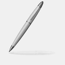 Ballpoint Pen - White Lacquer/Chrome