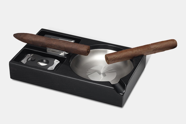 Colibri Windsor Ashtray w/ Removable Cigar Stand