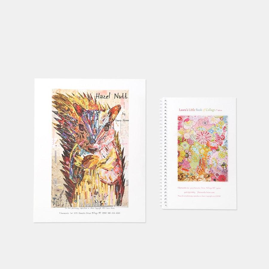 Collage Pattern by Laura Heine